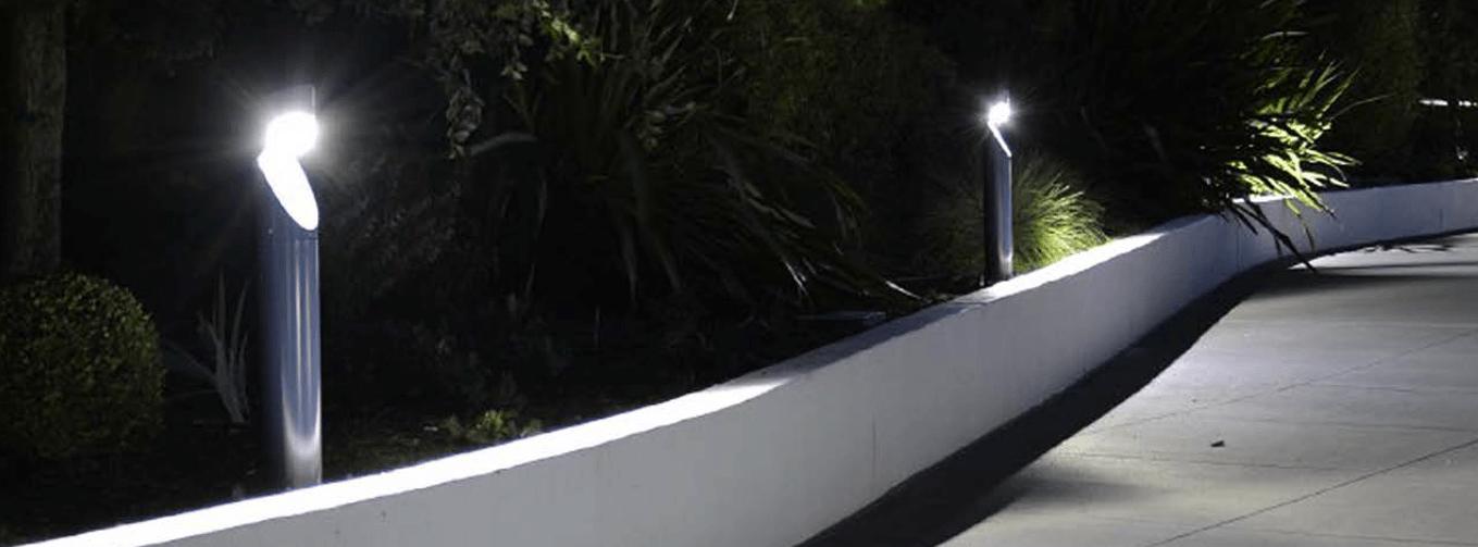 solar bollard lighting installation in melbourne