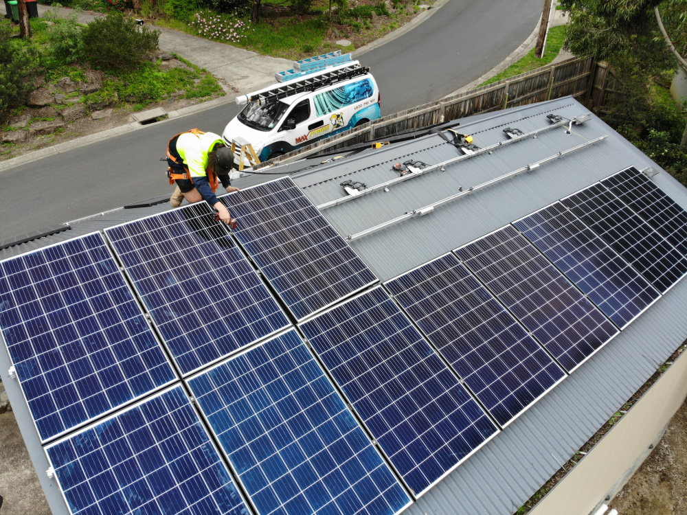 solar panel installation and maintenance